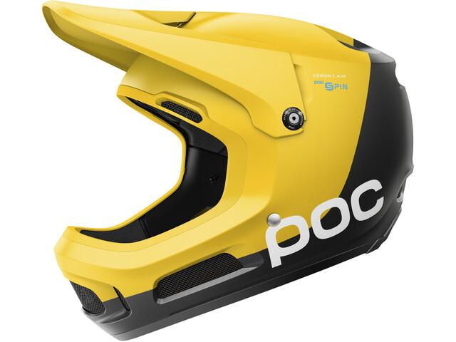 POC Coron Air Spin Helmet sulphite yellow